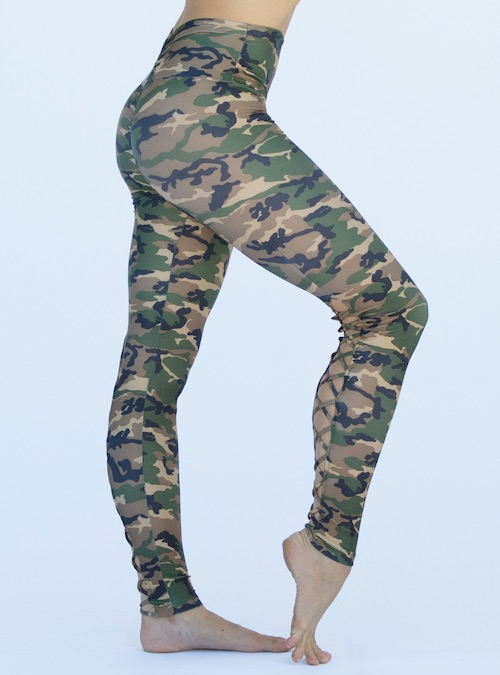 017410c625461 ... Workout Bottoms/Corset Legging Pant – Camo. ; 