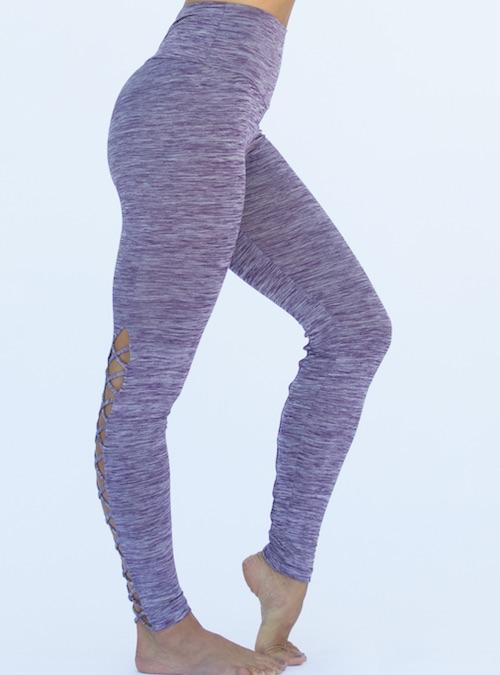 522c72f116d45 ... Workout Bottoms/Corset Legging Pant – Purple. ; 