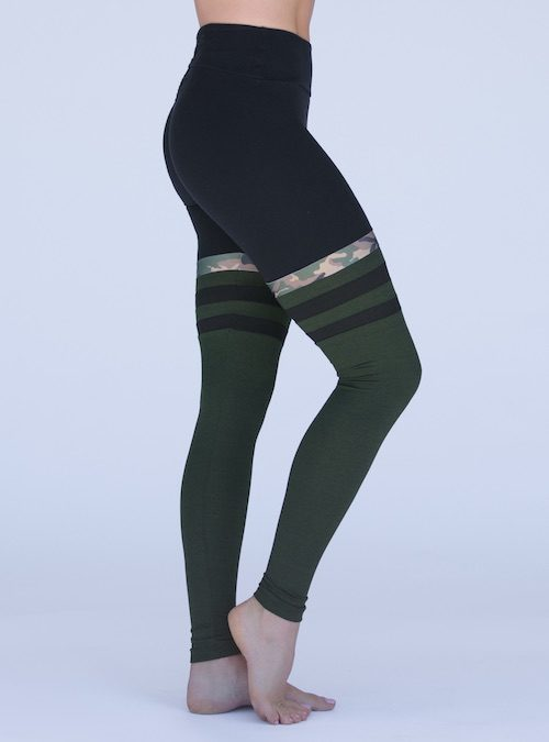 028688ec8a8dc Camo Motto Legging Pant – Green With Black Combo