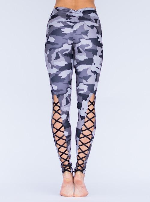 265a8846b4144 ... Workout Bottoms/Corset Legging Pant – Black & Grey Camo. ; 