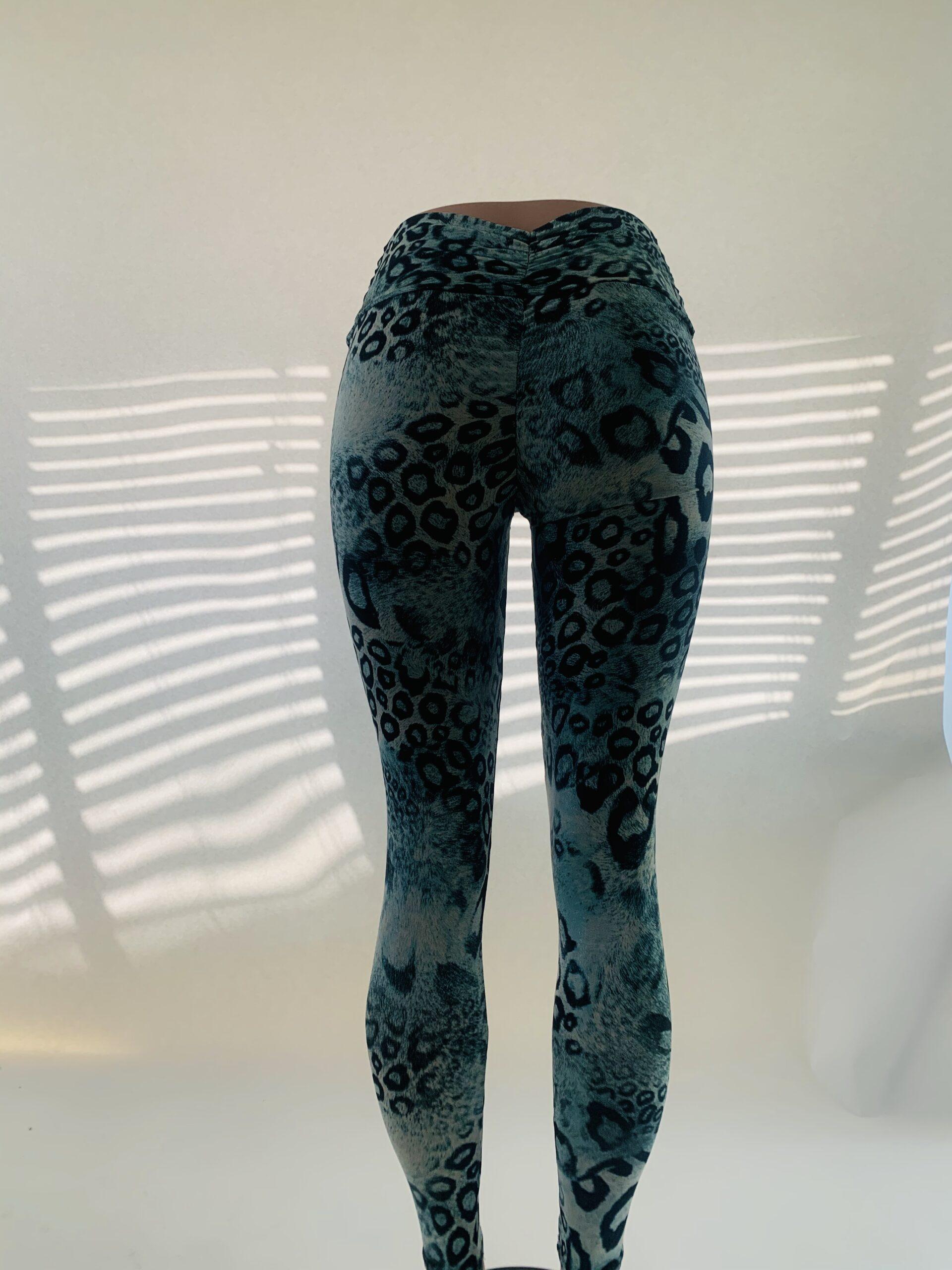 Turquoise Leopard Legging