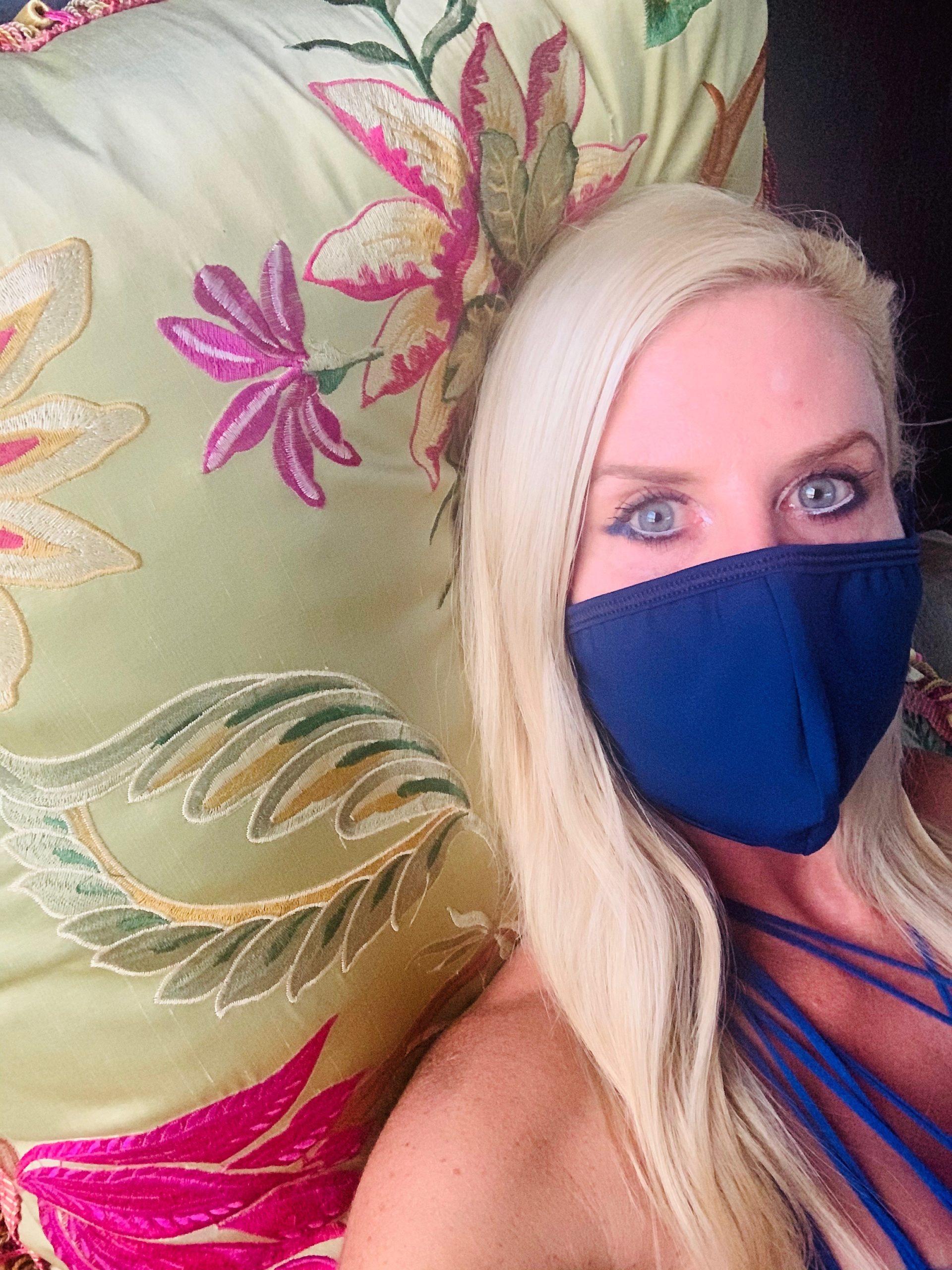 Mia Brazilia Blue Mask